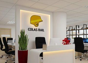 Thiết kế văn phòng công ty Colas Rail