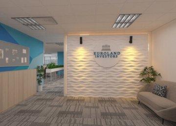 thiết kế văn phòng euro land