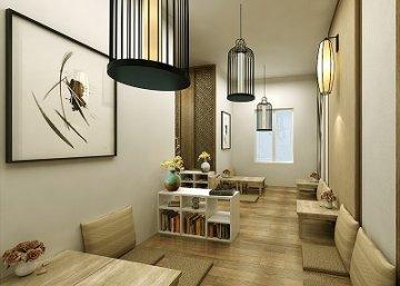 Thiết kế nội thất bird cafe