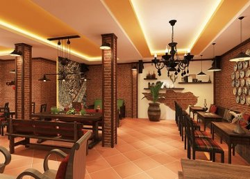 thiết kế quán cafe nhà cổ