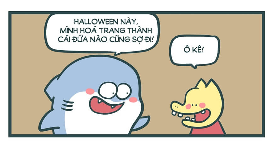 hóa trang halloween