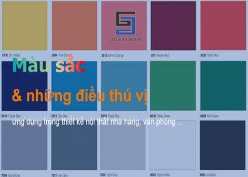 Màu sắc và những điều thú vị có thể bạn chưa biết