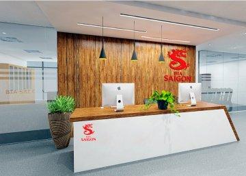 Thiết kế nội thất văn phòng Bia Sai Gon
